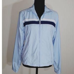 Nike Baby Blue Windbreaker Jacket Size Medium